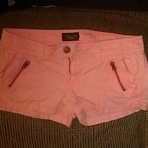 Abercrombie coral shorts
